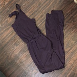 Plum jumpsuit